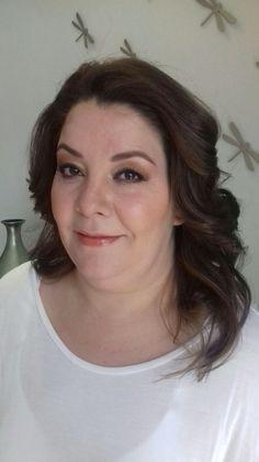 Alejandra en un Hair and Makeup AM por nuestra glammer Gaby Alva