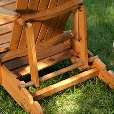 Coral Coast Big Daddy Reclining Adirondack 2 Chair Set with Pull Out Ottoman with FREE Side Table - Natural Stain - Spending quality time outdoors with a loved one is easy with our Coral Coast Big Daddy Reclining Adirondack 2 Chair Set with Pull Out Ottoman with FREE...