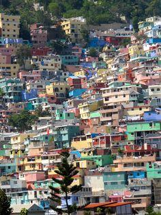 Slum on the hills north of Port Au Prince Haiti called Jalousie Barbados, Jamaica, Santa Lucia, Honduras, Belize, Port Au Prince Haiti, Costa Rica, Haiti History, Panama