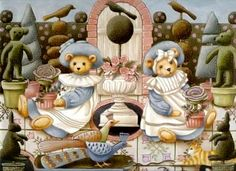 Borboleta Azul: Ilustrações de Nita Showers/Teddy Bear