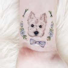 West Highland White Terrier Tattoo