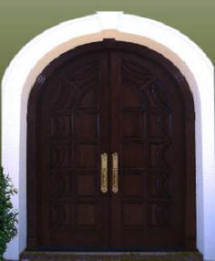 elegant wood double doors wooden double doors arched entry doors arched wood doors