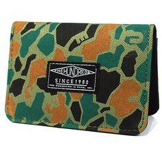 The Hundreds Sylvester Wallet (Duck Camo) $31.95 The Hundreds, Camo, Wallet, Camouflage, Military Camouflage, Purses, Diy Wallet, Purse