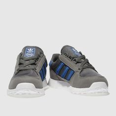 068b93260 adidas dark grey forest grove Boys Junior Trainers