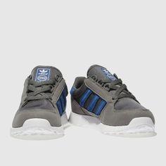 0e60098b5 adidas dark grey forest grove Boys Junior Trainers