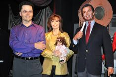 Donny and Marie Osmond with Dick Clark. Donny Osmond is an American singer, musician, actor and former teen idol. Marie Osmond, Donny's sister, is an American actress, singer and doll designer. Clark is an American businessman; game-show host; and ra Really really love Donny Osmond