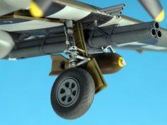 """Republic P-47D Thunderbolt """"Razorback"""" (Tamiya 1/48)"""