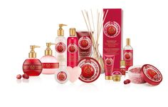the body shop christmas cranberry collection