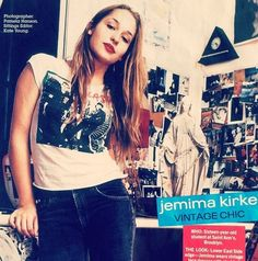 Jemima Kirke's collage + Mary