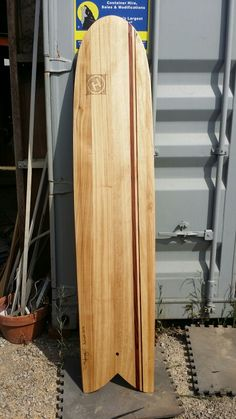 Alaia surfboard wood paulonia and cedar