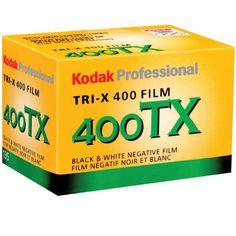 Kodak Tri-X Pan 400 Black White Negative Film Size 36 Exposure