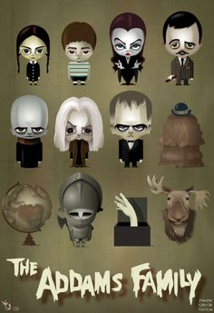 The Addams Family <3