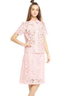 EileenElisa Lace Mini 2 Pieces Dresses for Women * Click image for more details.