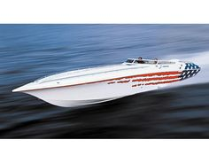 Very cool Fountain speed boat
