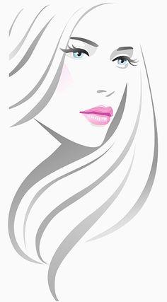 Illustration of Girl fashion vector art, clipart and stock vectors. Fashion Vector, Fashion Art, Girl Fashion, Fashion Trends, Art And Illustration, Vector Picture, Portrait Art, Art Girl, Line Art