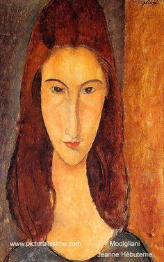 Modigliani - Jeanne Hébuterne