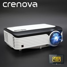 HDMI Home Theater Projectors with Built - In Speakers for sale Led Projector, Movie Projector Outdoor, Projector Reviews, Google Play, Android Wifi, Full Hd 1080p, Home Theater Projectors, Cinema Movies, Consumer Electronics