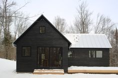 PROJECTS — northern timbers construction is part of Modern barn house - Modern Barn, Modern Farmhouse, Style At Home, Construction Chalet, Black House Exterior, Dark House, House Goals, House Colors, Exterior Design