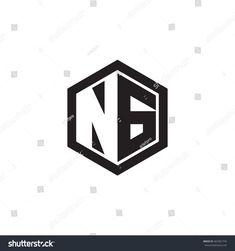 Find Initial Letters Ng Negative Space Hexagon stock images in HD and millions of other royalty-free stock photos, illustrations and vectors in the Shutterstock collection. Monogram Logo, Initials Logo, Initial Letters, Letter Logo, Sd Logo, Online Fonts, Free Printable Flash Cards, Writing Fonts, Health Logo