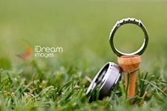Golf Ring Shot - Engagement Picture - Wedding Photography