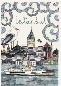 Istanbul ... from the private postcard collection of Le-McKernan.com