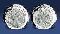 Srebro najwyższej próby 999/1000 - Królowa Bałtyku. Więcej info: http://www.skarbnicakrajowa.pl/basnie-i-legendy-polskie