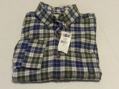 #ebay CHAPS Men Size S Button-Down Flannel shirt 15.5-31/32 HEMLOCK Plaid Pattern withing our EBAY store at  http://stores.ebay.com/esquirestore