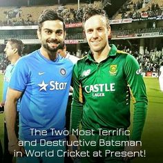 Virat Kohli and Ab De Villiers www.cricvista.com