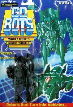 gobots vamp   gobots vamp transforming robot tonka sold $ 45 00
