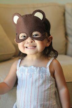 Cute Kids Animal Masks