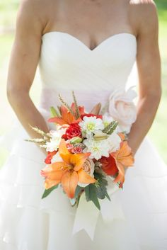 soft neutral orange wedding color palette inspiration montana wedding pictures (13) - love a lot of details about this wedding