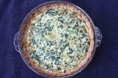 Everyday Reading: Vegetarian Recipe #15: Spinach Quiche