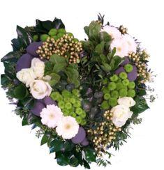 Fleurs Deuil » Coeur Naturel»