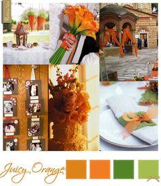 Wedding Moodboard - Juicy Orange | See more at WeddingTales.gr | http://weddingtales.gr/index.php?id=763