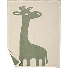 @Overstock - Snuggle your little ones with the whimsical design and soft feel of the Bocasa Jade Giraffe Organic Baby Blanket. Woven from warm, cozy, pure organic cotton, this blanket features a charming giraffe design in soothing jade and ecru tones.http://www.overstock.com/Baby/Bocasa-Jade-Giraffe-Organic-Baby-Blanket/6475130/product.html?CID=214117 $39.95