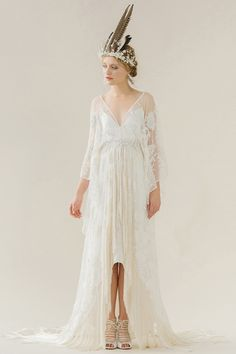 Rue de Seine designs beautiful chic wedding gowns and bridal dresses for the modern bride inspired by the romance of the Rue de Seine, Paris and sold… Designer Wedding Gowns, 2015 Wedding Dresses, Bohemian Wedding Dresses, Boho Wedding, Bridal Dresses, Flower Girl Dresses, Bridesmaid Dresses, Bridal Designers, Bohemian Bride