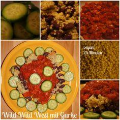 Wild Wild West mit Gurke vegan by AURELIA