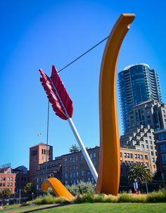 Cupid's Span in Rincon Park - San Francisco CA