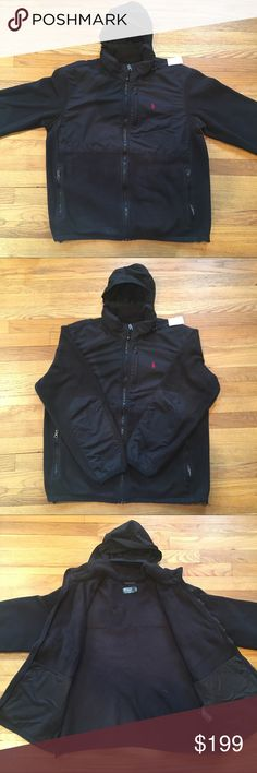 Vintage Polo Ralph Lauren Denali Fleece Jacket Mens Vintage Polo Ralph Lauren Denali Fleece Hoodie Jacket - L - Pre-owned in very good condition. REMEMBER:  this is a pre-owned item.  Ask questions before bidding/purchasing.  We do the best we can with our photos to show any flaws or defects if any apply. See something you like but it's not here next week? We sell in store and across multiple platforms, so items go quick! If you're interested, act on it before you lose it! Polo by Ralph…