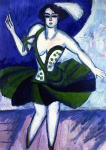 The Russian Dancer Mela - Ernst Ludwig Kirchner - The Athenaeum
