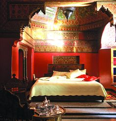 Playing dress up in a big way, Moroccan style..............