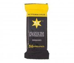 Montezumas  54 Cocoa Milk Chocolate Butterscotch  30g ** ** AMAZON BEST BUY **