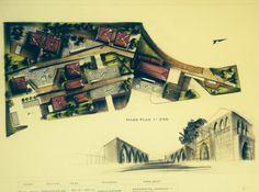 Old lebanese#architecture#massplan#render