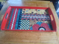 Mosaic Furniture, Mosaic Tray, Trays, Diy And Crafts, Garden, Inspiration, Home Decor, Glass, Lap Tray