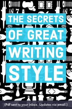 This book must have taken a lot of research: fifty pages all about improving your writing style. Writing Styles, Writing Advice, Writing Prompts, Improve Writing, Good Sentences, Teaching Writing, Blogging For Beginners, Writing Inspiration, Creative Writing