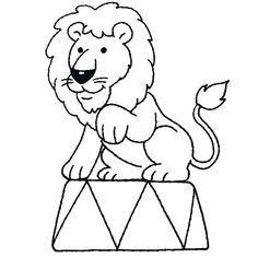 112 dessins de coloriage tigre a imprimer maternelle dessin lion cirque gratuit b Circus Animal Crafts, Clown Crafts, Circus Crafts, Circus Art, Circus Theme Decorations, Circus Theme Party, Carnival Themes, Preschool Circus, Circus Activities