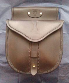 4d945056772 Hornstone- Shotgun cartridge pouches-leather-handmade in UK
