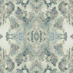 Inner Beauty kaleidoscope wallpaper pattern for York Wallcoverings. yorkwall.com