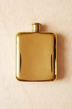 Urban Outfitters - gold plated flask