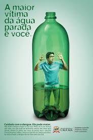 Resultado de imagem para campanha contra dengue 2012 Water Bottle, Drinks, Campaign, Drinking, Beverages, Water Bottles, Drink, Beverage